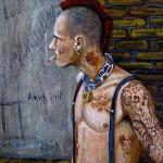 Livro autobiográfico do artista Fernando Carpaneda