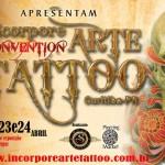 Incorpore Convention Arte Tattoo em Curitiba