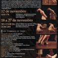 """O espetáculo Corpos Frágeis estará emcurtatemporada em novembro no Kasulo Espaço de Cultura e Arte em São Paulo. """"A criação coloca em cena a fragilidade do feminino enquanto potência sensível. […]"""