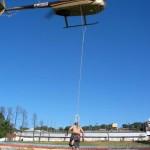 Suspensão corporal em Helicóptero no Paraná
