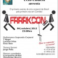 No dia 06 de Outubro acontecerá pela primeira vez na cidade de Curitiba, Paraná, o evento Frrrkcon 000.3. A Frrrkcon busca discutir e difundir a body art, a modificação corporal, […]