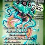 Em Maio acontece o Tattoo Fun Fest em Caraguatatuba
