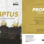PROMPTUS Intercâmbio BRASIL:MÉXICO de Performance