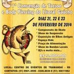 <!--:pt--> Fevereiro tem a 1º Convenção Internacional de Tattoo e Body Piercing do litoral gaucho<!--:-->