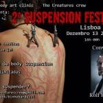 Em dezembro acontece em Lisboa o '2º Suspension Fest'