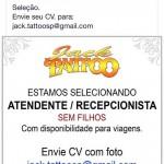 Ministério do Trabalho investiga estúdio de tatuagem que publicou anúncio de trabalho discriminatório