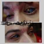 Novos experimentos com eyeball tattooing