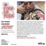 Coleção: Priscilla Davanzo faz performance no Sesc Ipiranga