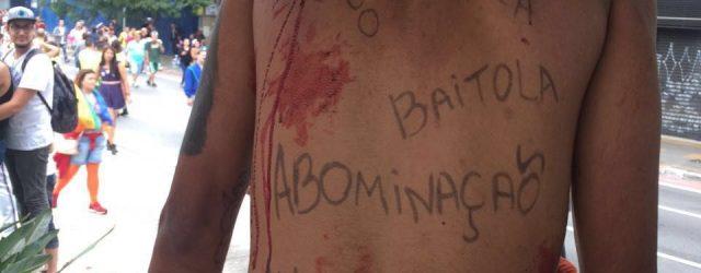"""Foto: acervo Douglas Alcântara AXX Parada do Orgulho LGBT que aconteceu ontem (29) na Avenida Paulista, teve como tema a""""Lei de identidade de gênero, já! – Todas as pessoas juntas […]"""