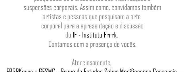 Na próxima segunda-feira (27) está marcado para acontecer uma reunião em que será feita a apresentação do Instituto Frrrk (IF). Todas as pessoas ligadas ou interessadas com as modificações e […]