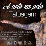 História da tatuagem será contada em exposição no Memorial da América Latina