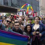 Bloco dxs freaks na Parada do Orgulho LGBTQI+