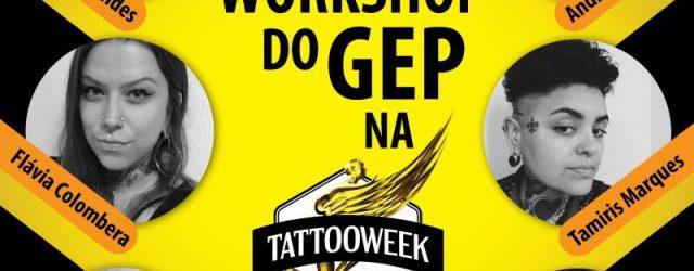 Vem aí mais um workshop do Grupo de Estudos de Piercing – GEP na Tattoo Week em São Paulo. Será um dia de muito estudo, somente com piercers do Brasil. […]