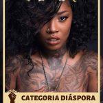 Pela primeira vez uma convenção de tatuagem terá categoria para pele negra em concurso