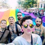 O micro 'Bloco dxs Freaks' na 23ª Parada do Orgulho LGBTQI+ de São Paulo