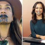 Nova Zelândia tem apresentadora de TV com tatuagem facial
