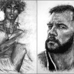 Homens em Carvão - Projeto artístico discute masculinidades