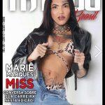 Mariê Marques estampa capa de revista de tatuagem