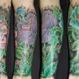 Abril tem o tatuador Adrien Dorme em São Paulo